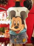 OLD Mickey   BIG-Tシャツ(サックス)