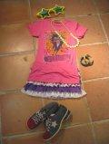 ★★★SALE★★★ 「JUNK FOOD」VISIONTシャツ(ピンク)