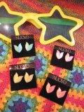 キャンディカラー デザインプラピアス  (4color)