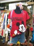 恋する  Mickey BIG Tシャツ (レッド)