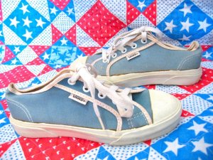 画像2: Made in U.S.A   VANS    スニーカー (サックス)