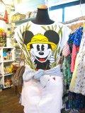 USED   Mickey 大冒険 Tシャツ (ホワイト)