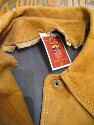 画像5: ★★★SALE★★★ Vintage  ヌバックレザー マルチカラー コート (ブラウン系)