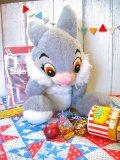 ★★20%OFF★★ 60's Vintage 「Thumper」 ぬいぐるみ (グレー)