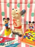 60'sVintage DELL社製「Mickey Mouse」Rubber Doll