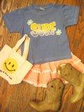 『Good News』 ロウケツ染め SURF Tシャツ(T100)