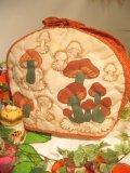 ★★★SALE★★★ 70's Vintage mushroom ポットカバー