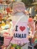 I ♡ HAWAII ベアトップ (T60~80/ベビーピンク)
