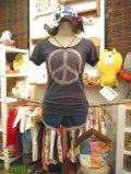 ★★★SALE★★★ American Eagle PEACEマークTシャツ(チャコールブラック)