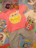『moondid』 ロウケツ染め インディアンスマイル Tシャツ(T80)