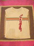レインボーライン JoggingTシャツ (クリーム)
