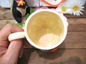 画像2: 70'sVintageデコボコ Mushroomマグカップ(ブラウン)