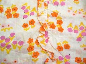画像3: 『SOLリメイク』Levi'sデニム 花柄 スカート W29 (デニム×ホワイト)