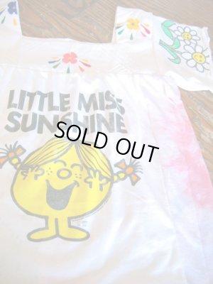 画像3: USED 「LITTLE MISS SUNSHIN」 リメT チュニック (ホワイト×カラフル)