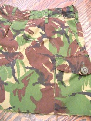 画像3: イギリス軍 カモフラージュ   スカート  W28 (迷彩)