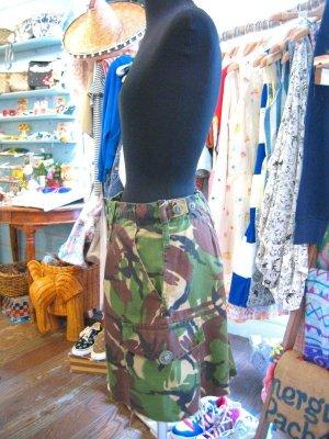 画像2: イギリス軍 カモフラージュ   スカート  W28 (迷彩)