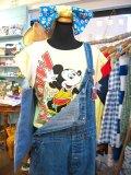 OLD  Mickey サーフィン Tシャツ (レモンイエロー)