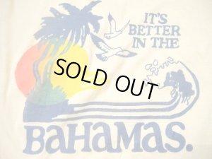 画像3: USED   Summer BAHAMAS  Tシャツ (クリーム)