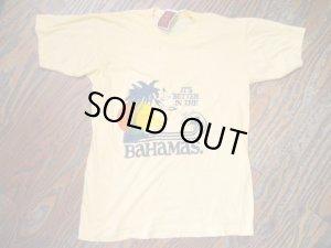 画像4: USED   Summer BAHAMAS  Tシャツ (クリーム)