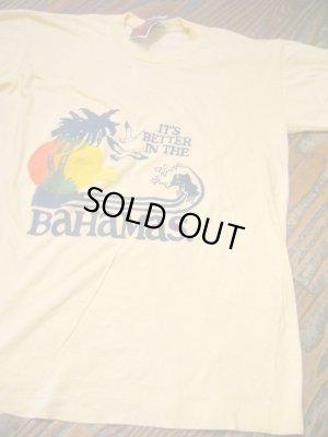 画像5: USED   Summer BAHAMAS  Tシャツ (クリーム)