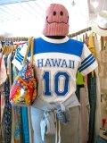 Hawaii ナンバリング  Tシャツ(ホワイト×ブルー)