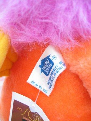 """画像4: ★★★SALE★★★ 80's Vintage 「Hasbro Softies社」""""Wuzzler""""ぬいぐるみ(オレンジ)"""