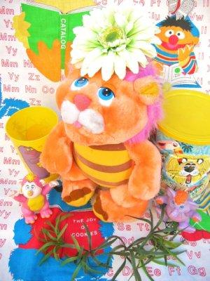 """画像1: ★★★SALE★★★ 80's Vintage 「Hasbro Softies社」""""Wuzzler""""ぬいぐるみ(オレンジ)"""