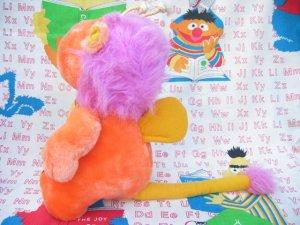"""画像3: ★★★SALE★★★ 80's Vintage 「Hasbro Softies社」""""Wuzzler""""ぬいぐるみ(オレンジ)"""
