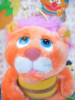 """画像2: ★★★SALE★★★ 80's Vintage 「Hasbro Softies社」""""Wuzzler""""ぬいぐるみ(オレンジ)"""