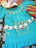 フラワーデザイン シェル  編み編み 飾りベルト (ホワイト)