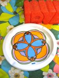 70's 「Peter Max」 Big Ashtray  (FLOWER)