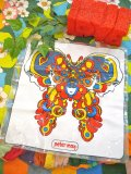 70's 「Peter Max」Air Pillow (Human Butterfly)