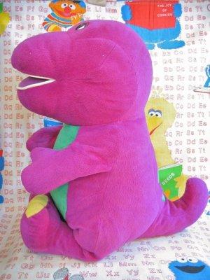 画像5: old 「Tolking Barney」恐竜さんの  おっきめぬいぐるみ(グレープ)