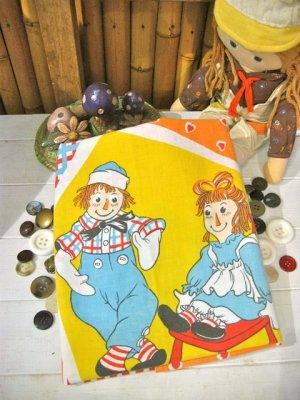 画像1: Vintage 「Ann&Andy」 カットクロス (カラフル)
