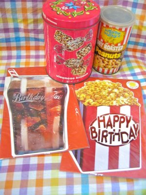 画像1: ★★★SALE★★★ Cola / Popcorn  Birthday Card (2Design)