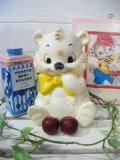 50's Vintage  甘えん坊 クマさん ラバードール (ホワイト)