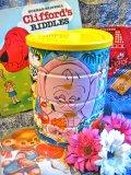 70's Vintage カラフル アニマル Coffee缶