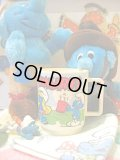 ★★★SALE★★★ Vintage From U.S.A「SMURFS」プラカップ(アイボリー)