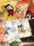Vintage 「Mickey」   カットクロス  (カラフル)