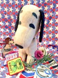 68's Vintage 「Determined  Productions.」社製 SNOOPY ぬいぐるみ