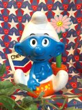 ★★★SALE★★★ レア!80's   Vintage   WALLACE BERRIE社製「SMURF」 トーキングドール