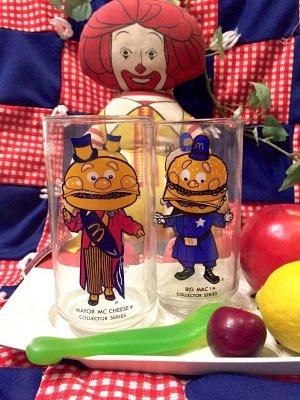 画像1: 80's  Vintage  「McDonald's」 グラス   (2Design)