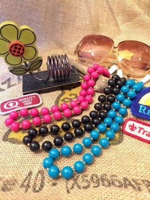 画像1: From  U.S.A まんまるビーズ ショート ネックレス (3color)
