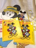 50'sVintage U.S.A   DeadStock 「Mickey 」ワッペン