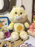 80's Vintage 「Care Bear」FromU.S.A ぬいぐるみ(イエロー)
