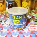 "Vintage ""Mr.Peanuts"" Tin缶 (blue×etc)"