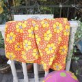 70'sVintage Sleeping Bag (retro flower)