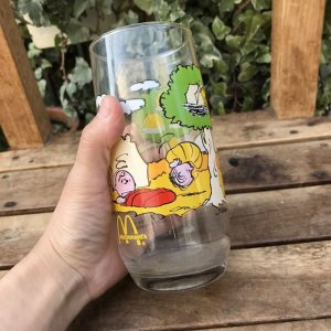 画像4: Vintage McDonald's「PEANUTS」Camp Glass