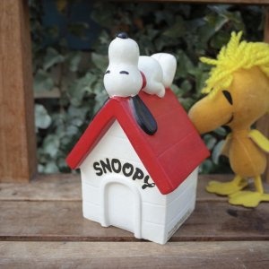 画像1: 70'sVintage「SNOOPY」COIN BANK