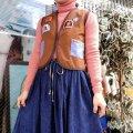 Vintage  CANADA Boy Scout Vest(brown)